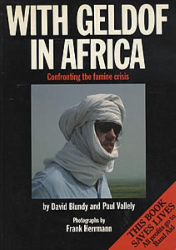 Band Aid With Geldof In Africa book UK AIDBKWI307044