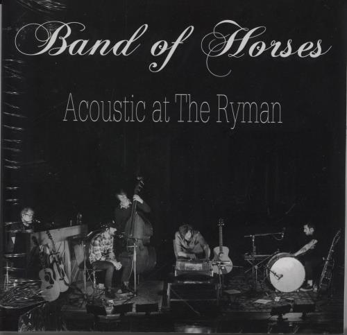 """Band Of Horses Acoustic At The Ryman - Sealed 7"""" vinyl single (7 inch record) US BVD07AC764535"""