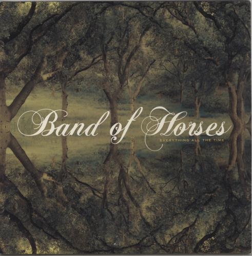 Band Of Horses Everything All The Time vinyl LP album (LP record) US BVDLPEV762192