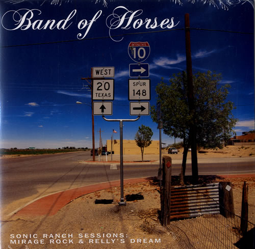 """Band Of Horses Sonic Ranch Sessions - RSD BF12 - Sealed 7"""" vinyl single (7 inch record) US BVD07SO576894"""