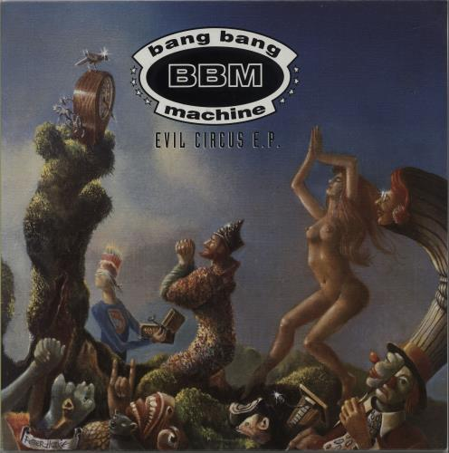 "Bang Bang Machine Evil Circus EP 12"" vinyl single (12 inch record / Maxi-single) UK B\M12EV665670"