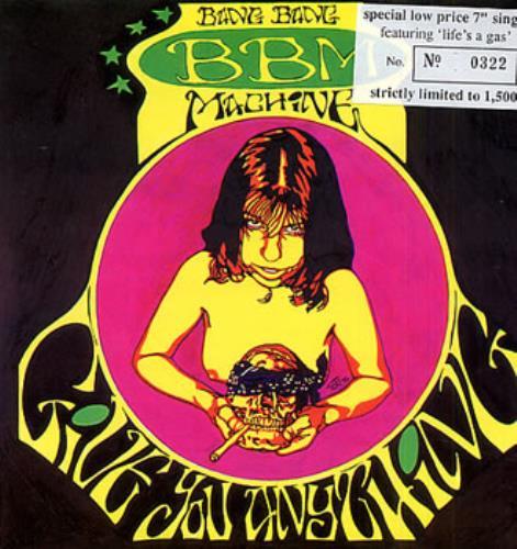 "Bang Bang Machine Give You Anything 7"" vinyl single (7 inch record) UK B\M07GI315804"