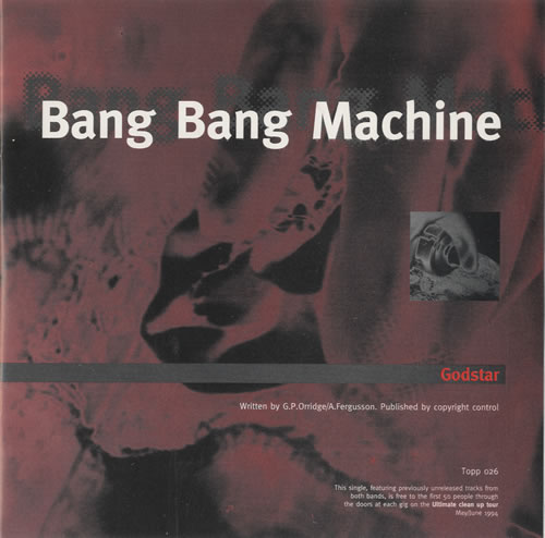 "Bang Bang Machine Godstar 7"" vinyl single (7 inch record) UK B\M07GO508014"