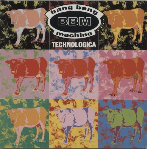 "Bang Bang Machine Technologica 12"" vinyl single (12 inch record / Maxi-single) UK B\M12TE687539"