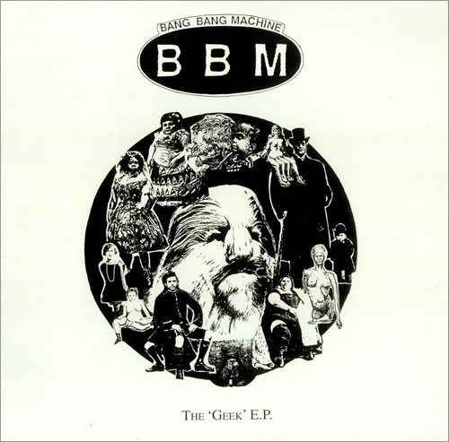 "Bang Bang Machine The Geek EP 12"" vinyl single (12 inch record / Maxi-single) UK B\M12TH263480"