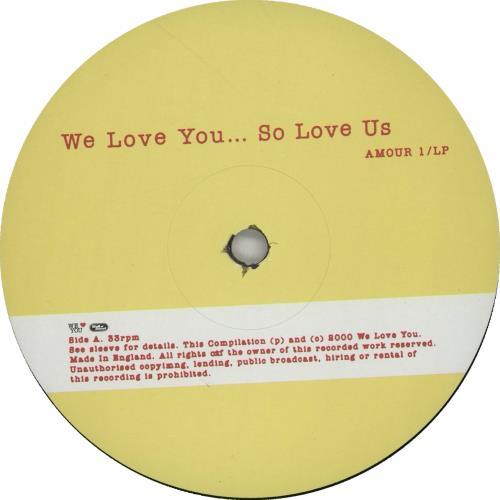 Banksy We Love You So Love Us vinyl LP album (LP record) UK BPHLPWE671503