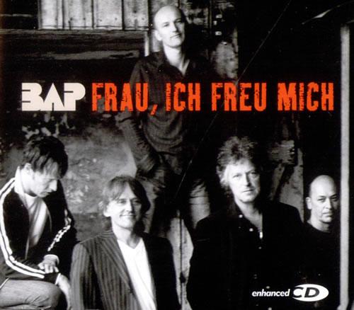 """Bap Frau, Ich Freu Mich CD single (CD5 / 5"""") German BAPC5FR525589"""