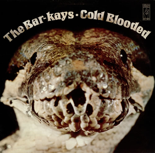Bar-Kays Cold Blooded vinyl LP album (LP record) UK B\KLPCO497333