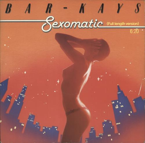 "Bar-Kays Sexomatic - P/S 12"" vinyl single (12 inch record / Maxi-single) UK B\K12SE390527"