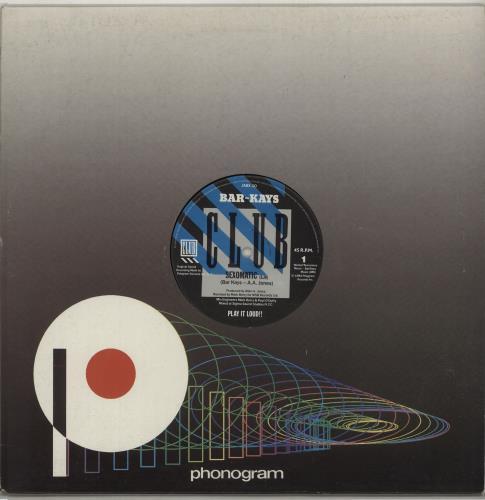 "Bar-Kays Sexomatic 12"" vinyl single (12 inch record / Maxi-single) UK B\K12SE676422"