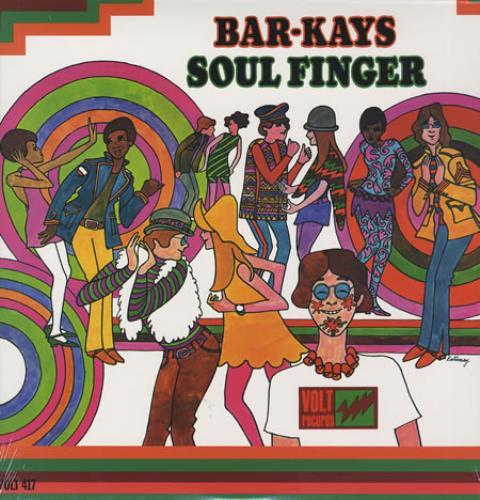 Bar-Kays Soul Finger - Sealed vinyl LP album (LP record) US B\KLPSO357919