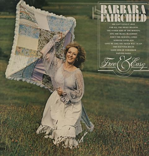 Barbara Fairchild Free & Easy vinyl LP album (LP record) UK BF-LPFR329412