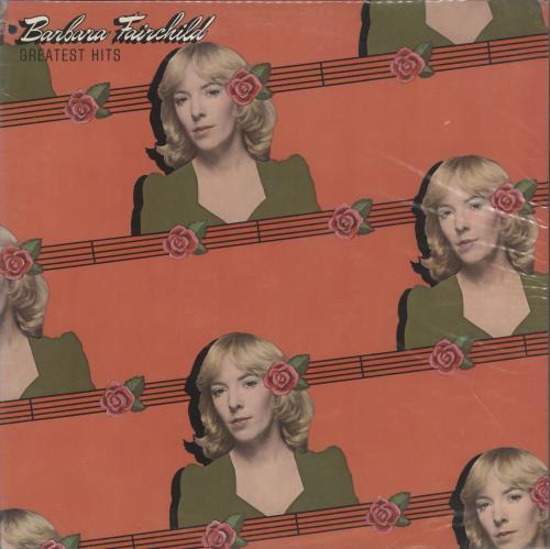 Barbara Fairchild Greatest Hits vinyl LP album (LP record) US BF-LPGR720633