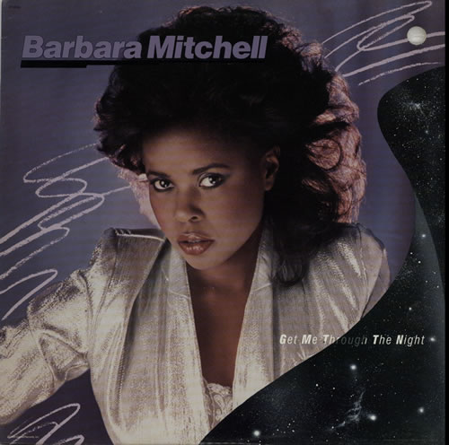 Barbara Mitchell Get Me Through The Night vinyl LP album (LP record) US G5RLPGE628011