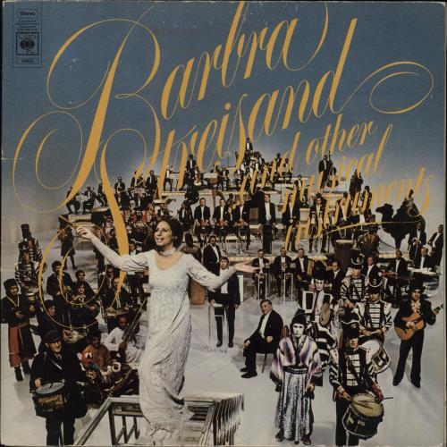 Barbra Streisand ... And Other Musical Instruments vinyl LP album (LP record) UK BARLPAN362119