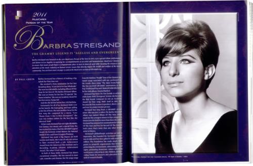 Barbra Streisand 53rd Annual Grammy Awards Programme tour programme US BARTRRD532868
