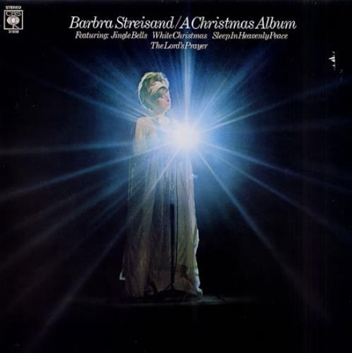 Barbra Streisand A Christmas Album vinyl LP album (LP record) UK BARLPAC336940