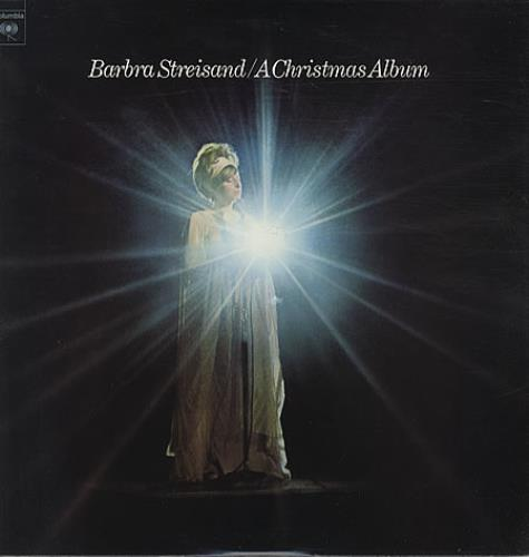 Barbra Streisand A Christmas Album vinyl LP album (LP record) US BARLPAC337071