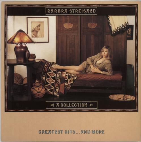 Barbra Streisand A Collection vinyl LP album (LP record) UK BARLPAC246435