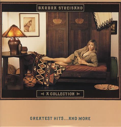 Barbra Streisand A Collection vinyl LP album (LP record) US BARLPAC337039