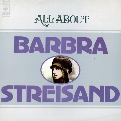 Barbra Streisand All About Barbra Streisand 2-LP vinyl record set (Double Album) Japanese BAR2LAL161708