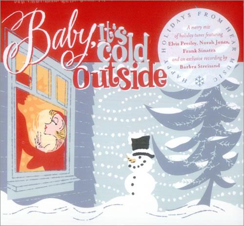 Barbra Streisand Baby It's Cold Outside CD album (CDLP) US BARCDBA344898