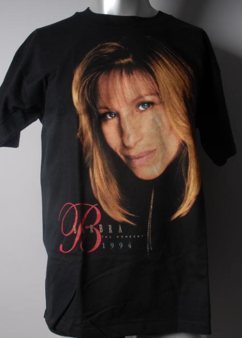 Barbra Streisand Barbra - The Concert 1994 t-shirt UK BARTSBA593702