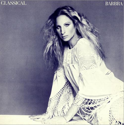 Barbra Streisand Classical Barbra vinyl LP album (LP record) UK BARLPCL491973