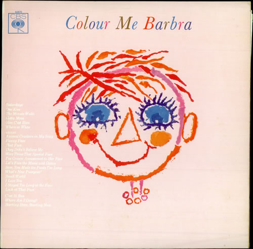 Barbra Streisand Colour Me Barbra vinyl LP album (LP record) UK BARLPCO61956