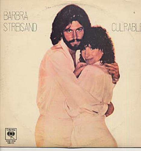 Barbra Streisand Culpable vinyl LP album (LP record) Uruguay BARLPCU234385