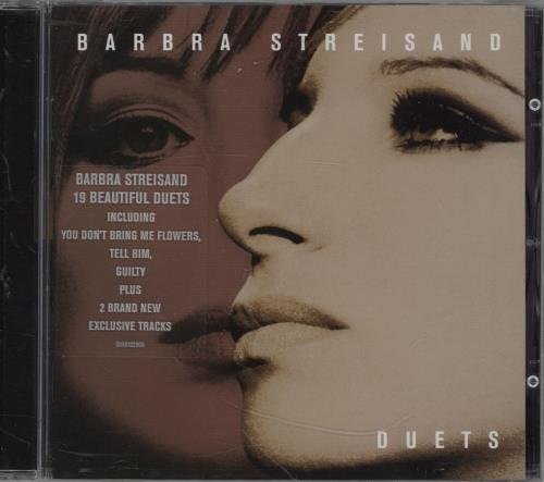 Barbra Streisand Duets CD album (CDLP) UK BARCDDU226477