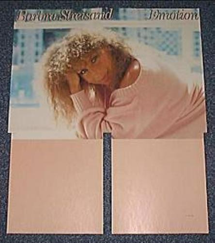 Barbra Streisand Emotion - Promo Display display US BARDIEM159776