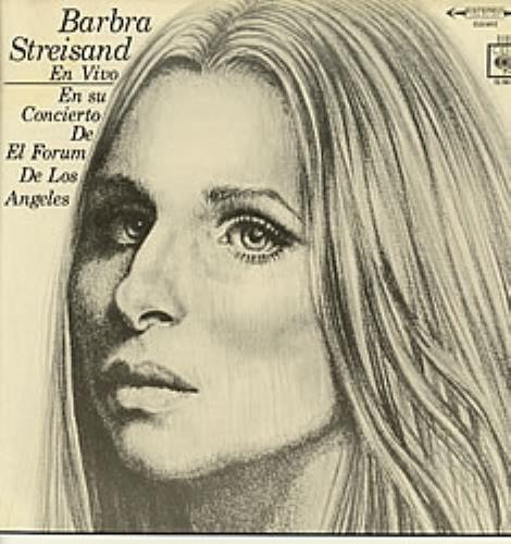 Barbra Streisand En Vivo vinyl LP album (LP record) Mexican BARLPEN111801