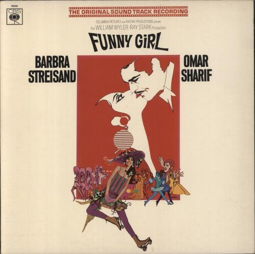 Barbra Streisand Funny Girl - 1st vinyl LP album (LP record) UK BARLPFU331277