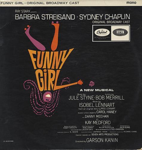 Barbra Streisand Funny Girl vinyl LP album (LP record) UK BARLPFU337069