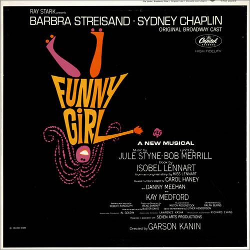 Barbra Streisand Funny Girl vinyl LP album (LP record) US BARLPFU475365