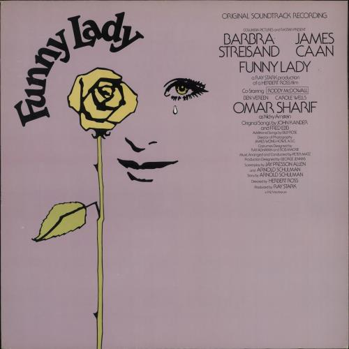 Barbra Streisand Funny Lady vinyl LP album (LP record) US BARLPFU336938