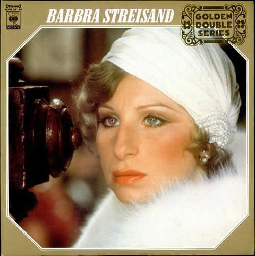 Barbra Streisand Golden Double Series 2-LP vinyl record set (Double Album) Japanese BAR2LGO525161