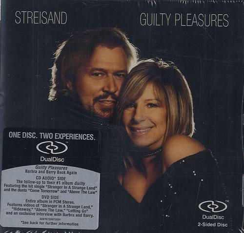 Barbra Streisand Guilty Pleasures Dual Disc German BARDUGU482517