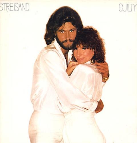 Barbra Streisand Guilty vinyl LP album (LP record) UK BARLPGU247556
