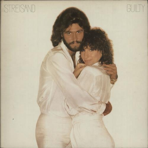 Barbra Streisand Guilty vinyl LP album (LP record) Canadian BARLPGU317229