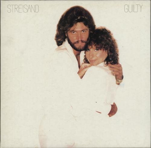Barbra Streisand Guilty vinyl LP album (LP record) Yugoslavian BARLPGU765286