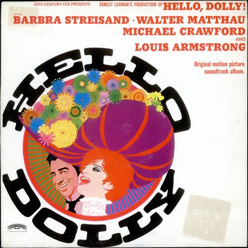 Barbra Streisand Hello Dolly vinyl LP album (LP record) Italian BARLPHE522536