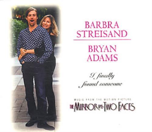 "Barbra Streisand I Finally Found Someone CD single (CD5 / 5"") UK BARC5IF77395"
