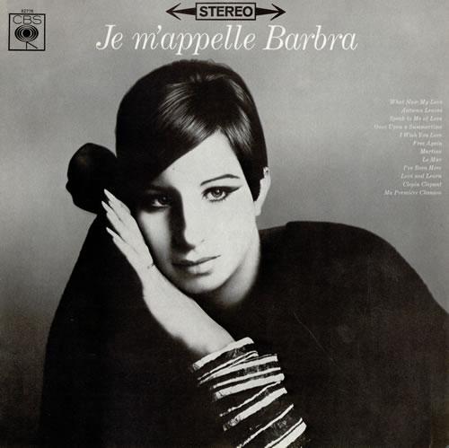 Barbra Streisand Je M'appelle Barbra - 1st vinyl LP album (LP record) UK BARLPJE60625