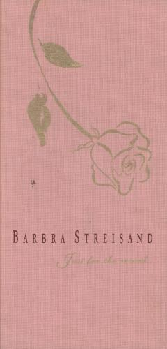 Barbra Streisand Just For The Record box set European BARBXJU748065