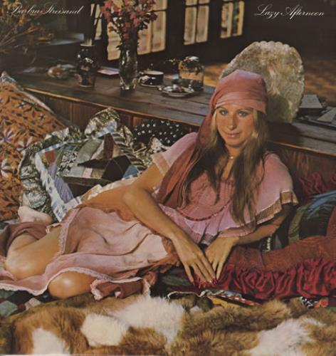 Barbra Streisand Lazy Afternoon vinyl LP album (LP record) UK BARLPLA362117
