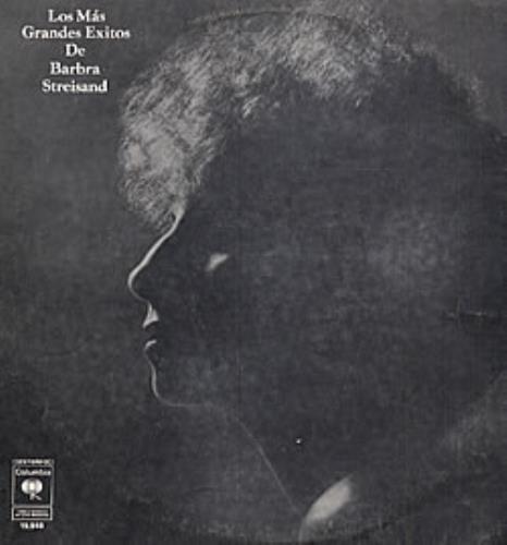 Barbra Streisand Los Mas Grandes Exitos De Barbra Streisand vinyl LP album (LP record) Argentinean BARLPLO234502