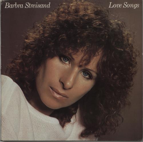 Barbra Streisand Love Songs - EX vinyl LP album (LP record) UK BARLPLO672130