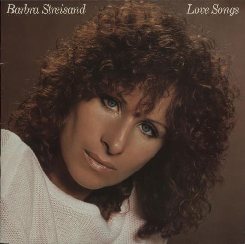 Barbra Streisand Love Songs vinyl LP album (LP record) UK BARLPLO336936